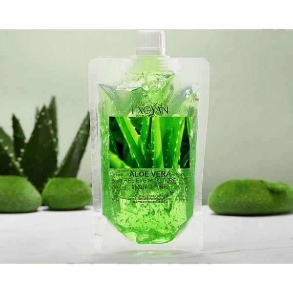 Универсальный несмываемый гель  Exgyan aloe moisturizing 170 g