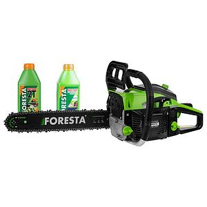 Бензопила цепная Foresta FA-40S 2.5 кВт + 2 масла