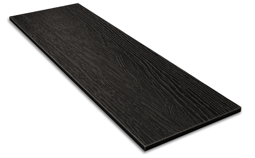 Фибросайдинг DECOVER dark (черный) 3600*190*8 мм