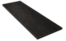 Фибросайдинг DECOVER dark (чорний) 3600*190*8 мм