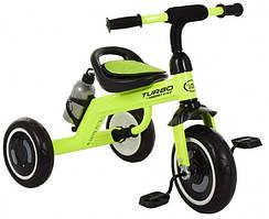 Велосипед трехколесный детский Turbo Trike M 3648-M-2 Зеленый