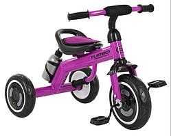 Велосипед трехколесный детский Turbo Trike M 3648-M-2 Фиолетовый