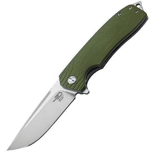 Ніж складний Bestech Knife LION Army Green BG01B