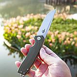 Ніж складний Bestech Knife LION Army Green BG01B, фото 3