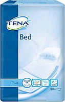 Tena пеленки одноразовые впитывающие Bed Plus 60x60 см 30 шт