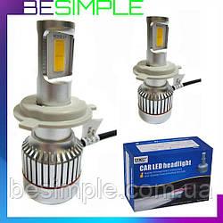 Комплект автомобільних LED ламп Led Car H4 / Світлодіодні лампи HeadLight