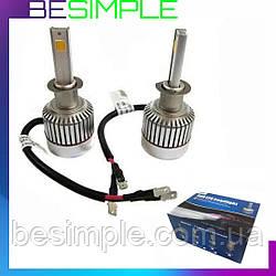 Комплект автомобільних LED ламп Led Car H3 / Світлодіодні лампи HeadLight
