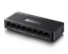 Комутатор NETIS Fast Ethernet Switch з 8 портами ST3108S