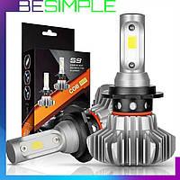 Комплект автомобильных LED ламп S9 H4 / Светодиодные лампы HeadLight