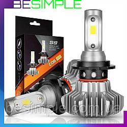 Комплект автомобільних LED ламп S9 H4 / Світлодіодні лампи HeadLight