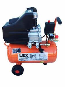 Компрессор с ресивером Lex LXC 24