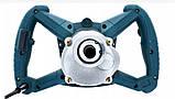 Міксер будівельний Boxer SR071 + 2 шт Міксер-насадки 3.2 кВт, фото 6