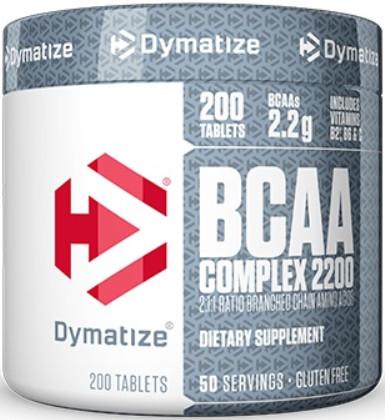 Амінокислоти bcaa Dymatize BCAA Complex 2200 (200 caps)