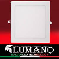 Панель LED врезная LUSQ-6C 4000K 6W квадрат (120*120*10) алюминий (1 год гарантии) TM LUMANO, фото 1