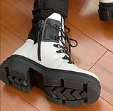 Ботинки женские зимние белые, фото 3