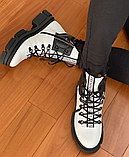 Ботинки женские зимние белые, фото 8