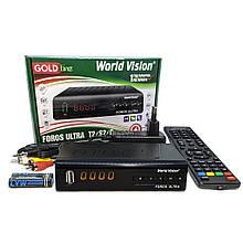 Комбинированный ресивер DVB-S2/Т2 World Vision Foros Combo