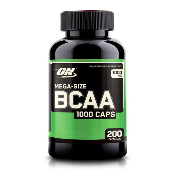 Аминокислоты bcaa Optimum Nutrition BCAA 1000 Caps (200 caps)