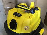 Промышленный пылесос Sturm VC7220Q для влажной и сухой уборки 1,7 кВт, фото 4