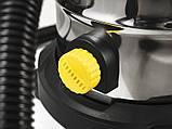 Промышленный пылесос Sturm VC7220Q для влажной и сухой уборки 1,7 кВт, фото 5