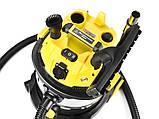 Промышленный пылесос Sturm VC7220Q для влажной и сухой уборки 1,7 кВт, фото 9