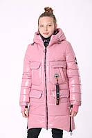 Пальто для девочки зимнее от производителя 36-44 Розовый