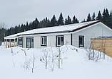 Фибросайдинг DECOVER snow (белый) 3600*190*8 мм, фото 10
