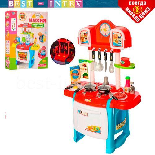 Детская игровая кухня Limo Toy WD-P19-R19 Красная