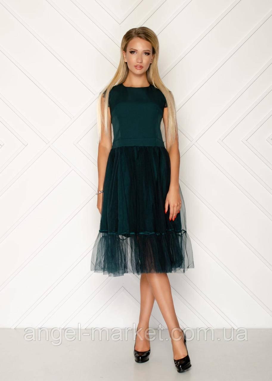Ошатне плаття з фатином новинка 2020
