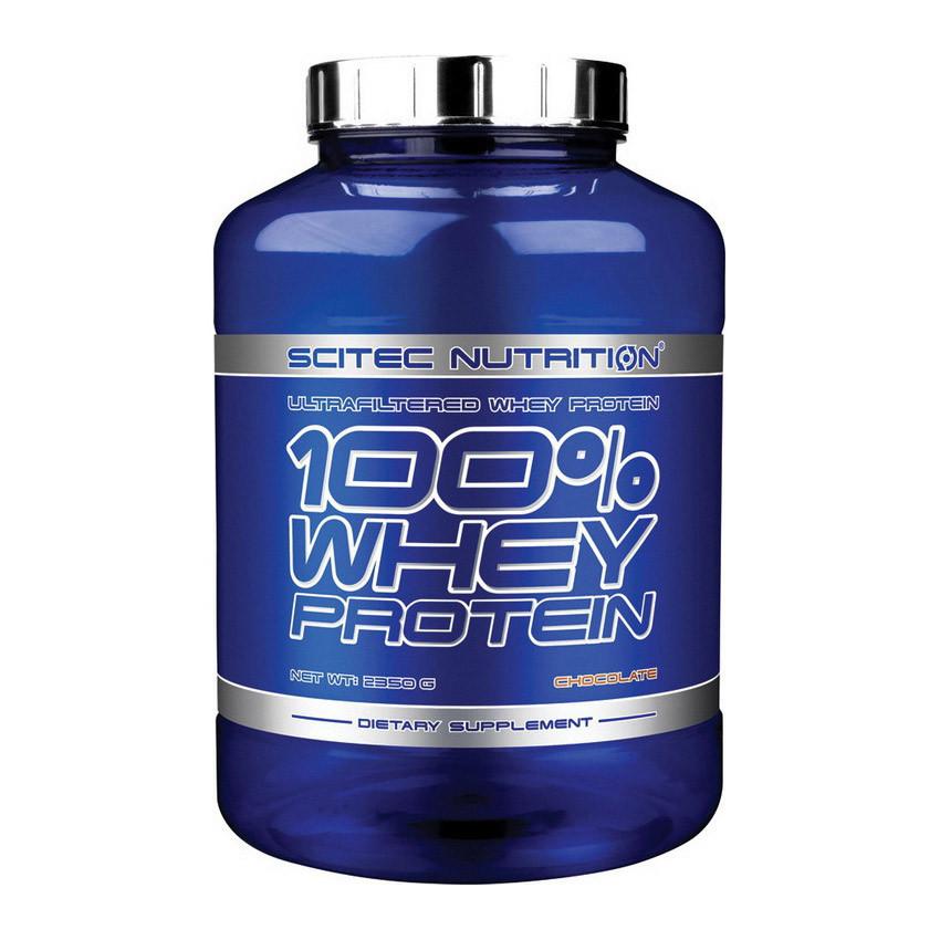 Сироватковий протеїн Scitec Nutrition 100% Whey Protein (2,35 kg)