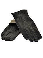 Перчатка Мужская кожа M21/17 мод 2 black шерсть.Купить перчатки оптом в Украине по выгодным ценам