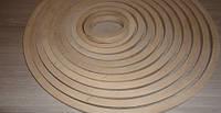 Гулливер. Круг - кольцо из дерева (основа для ловца снов 1 см), фото 1