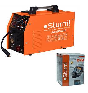 Сварочный инверторный полуавтомат Sturm AW97PA310 MIG/MAG,MMA 8 кВт