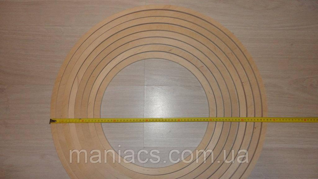 Гулливер. Круг - кольцо из дерева (основа для ловца снов 19 мм)