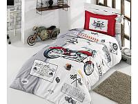 Подростковое постельное белье из турецкой ткани ранфорс Aran Clasy Arizona 160x220 SKL53-239716