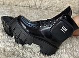 Мартінси жіночі чорні черевики, фото 2