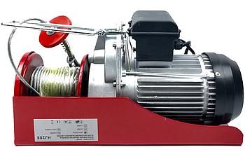 Электрическая лебёдка тельфер таль Eurocraft HJ208