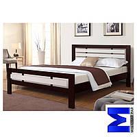 Ліжко дерев'яне двоспальне Роял - 160*200