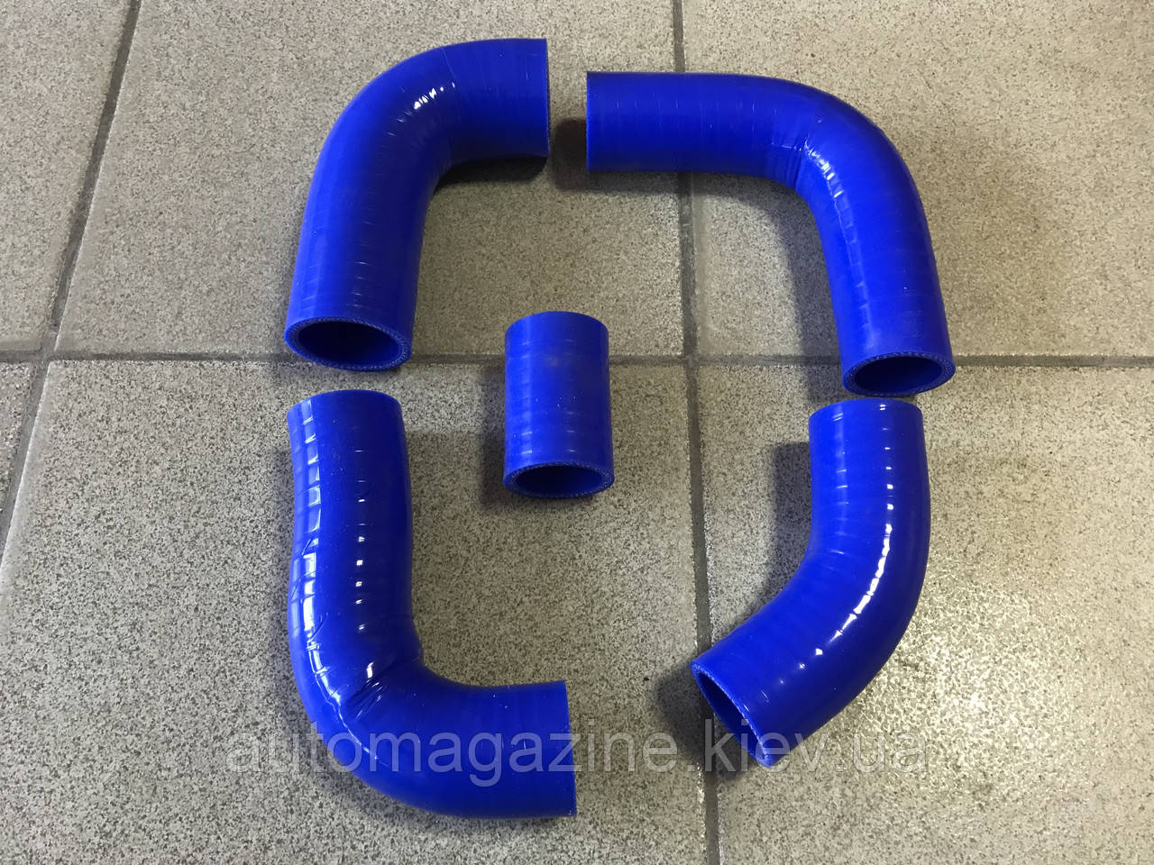 Патрубки радиатора Газель 405-й двигатель (силикон)