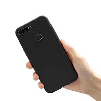 Чехол силиконовый для Huawei Y6 Prime 2018 черный