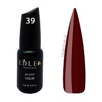 Гель лак коричневый Edlen Color №039 9 мл
