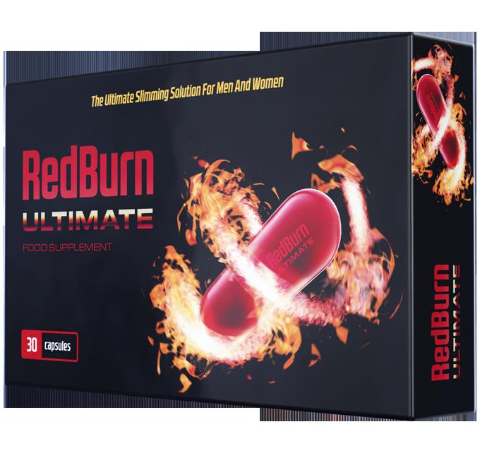 RedBurn Ultimat (РэдБьорн ультимат) - жиросжигающие капсулы