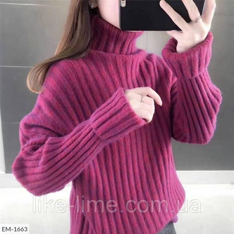 Женский свитер из ангоры