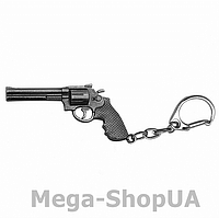 Брелок металлический для ключей пистолет (револьвер) Counter Strike CS:GO / FC56, фото 1