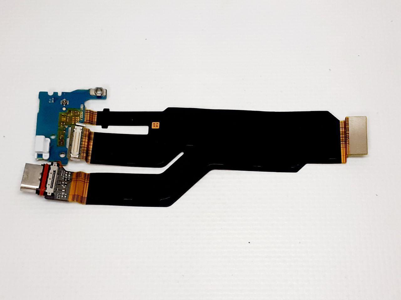 Шлейф Sony F8331 Xperia XZ / F8332 Xperia XZ / G8231 Xperia XZs / G8232 Xperia XZs, с разъемом на зарядку , ор