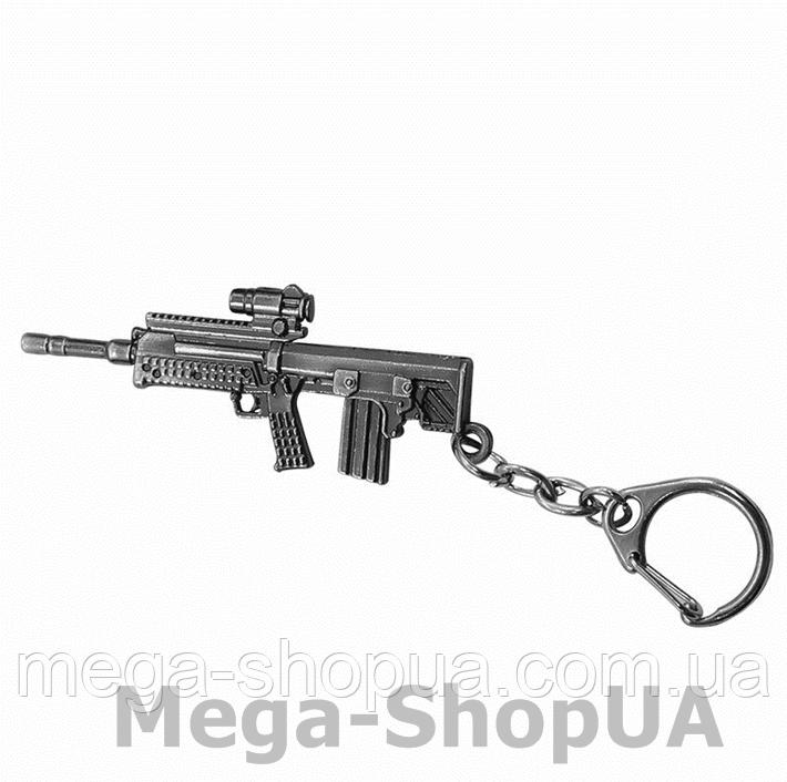 Брелок металлический для ключей автомат Counter Strike CS:GO / FC58