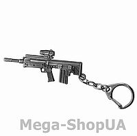 Брелок металлический для ключей автомат Counter Strike CS:GO / FC58, фото 1