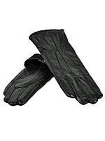 Перчатка Женская кожа F24-17/1 мод 9 black флис. Купить перчатки оптом в Украине по выгодным ценам