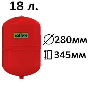 Расширительный бак вертикальный N,NG Reflex 18