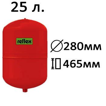Расширительный бак вертикальный N,NG Reflex 25
